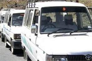 taxi union of about election heated atmosphere of manali