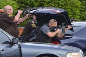 homicide suspect killed after shootout