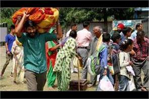 40 thousand people migrated from jammu borders