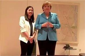 german chancellor merkel met wives of jailed lawyers during china visit