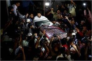 body of pakistani teenager killed in texas school shooting arrives in karachi