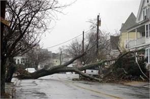 hurricane strikes in america in many parts of the emergency announcement