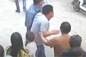 chinese man risks life to save two year old girl