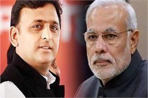 akhilesh attacked the modi government said bjp on arbitrary arrogance