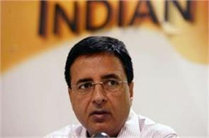 4 years of modi government congress randeep singh surjewala