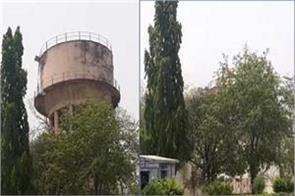 water tank broken in bhopal