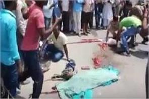 bike rider couple truck crushes mother child and maternal death in the womb