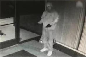 the world s most awkward thief cctv camera began to be seen brake dance