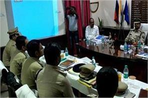 dgp reached begusarai for review to rising crime