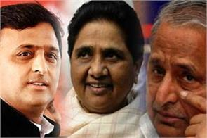 mulayam akhilesh and mayawati pressure to vacate government bungalow