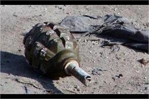 gernade attack on security forces in kashmir