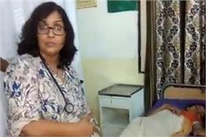 drunken doctor giving treatment to patients