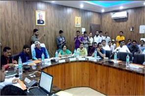 urban development minister arrives at uttarkashi