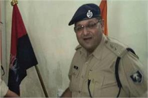 katihar sp fired at his farewell celebration