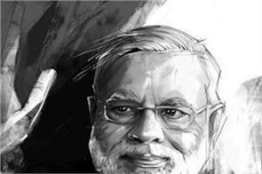 karan who created angry hanuman made modi painting