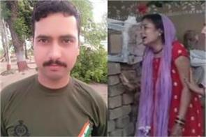 bsf jawan martyred in ceasefire violation wife asks why