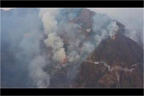 iaf on duty to douse fire in vaishno devi