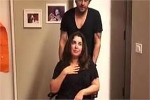 farah khan video with sonu nigam