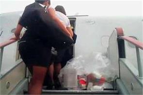 the man in the cabin crew tampered with the woman when he stopped drinking
