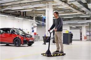 bmws personal mover concept takes factory workers for a ride