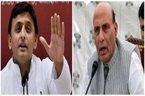 akhilesh raised question on up law and order