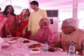 lalu broke his promise after marriage of his son