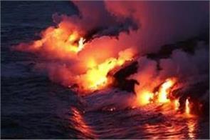 hawaii lava finally reaches the pacific