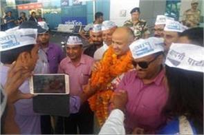 deputy chief minister of delhi reached dehradun