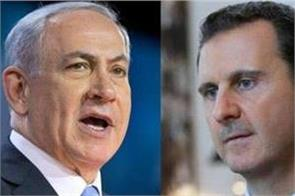 israel threaten to eliminate assad over any iranian attacks from syria