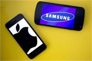 in the first quarter of 2018 samsung overtook apple