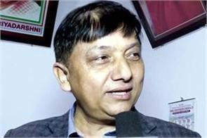 rajendra rana target the bjp government