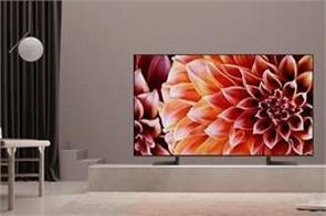 sony 4k hdr x900f smart tv series introduced in india