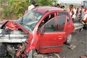 3 died in road accident in sagar