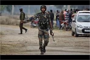 gernade attack on check point of crpf