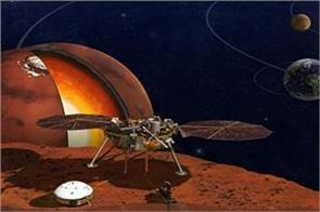 nasa sent mars lander   insight  on mars