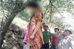 woman s deadbody found hanged from tree in ditch
