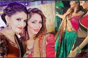 sapna chaudhary arshi khan rakhi sawant dance video wedding