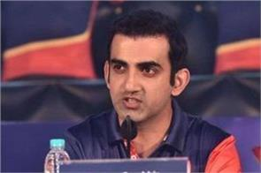 i never ever dropped myself to playing xi of delhi daredevils  gambhir