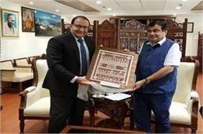 talks with singapore to promote cruise tourism in the country gadkari