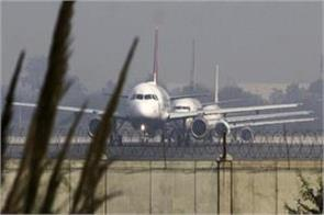 routes of 15 flights changed due to bad weather in delhi