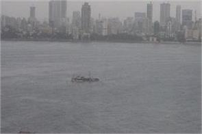 floating restaurant in mumbai sinks in sea 15 people rescued
