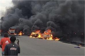 nigerian 53 people killed in gas tanker in lagos 9 people killed