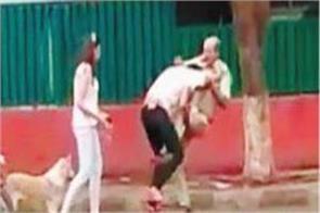 viral video that was revealed policeman beaten by their children