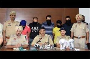 5 gangsters of sampat nehra gang arrested