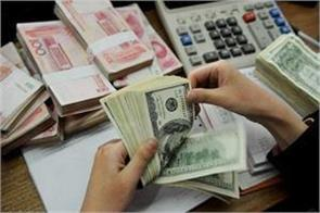 foreign exchange reserves at 20 week level