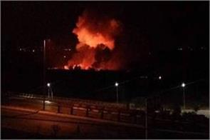 israeli missiles attack near damascus airport