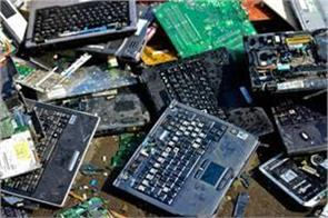 india also has 5 top countries in e waste garbage