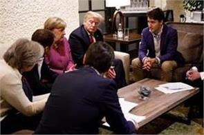g7 summit war of words erupts between us and key allies