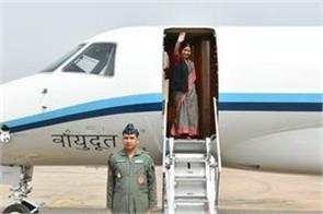 sushma left for italy france luxembourg and belgium tour