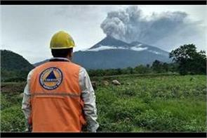 after the volcano burst guatemala sought help from refugees from america